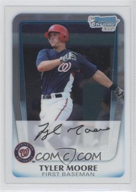 2011 Bowman - Chrome Prospects #BCP138 - Tyler Moore
