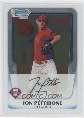 2011 Bowman - Chrome Prospects #BCP142 - Jonathan Pettibone