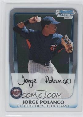 2011 Bowman - Chrome Prospects #BCP159 - Jorge Polanco