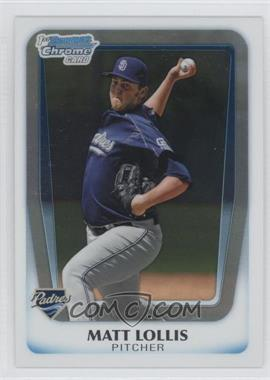 2011 Bowman - Chrome Prospects #BCP176 - Matt Lollis