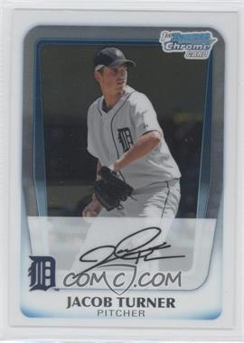 2011 Bowman - Chrome Prospects #BCP185 - Jacob Turner