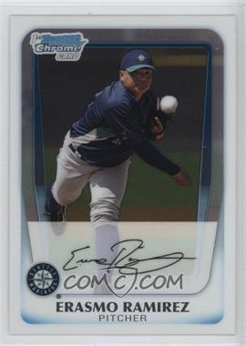2011 Bowman - Chrome Prospects #BCP189 - Erasmo Ramirez