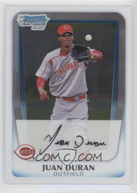 2011 Bowman - Chrome Prospects #BCP196 - Juan Duran