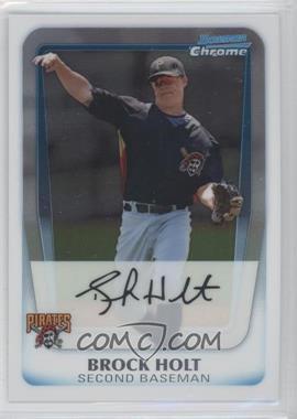 2011 Bowman - Chrome Prospects #BCP201 - Brock Holt