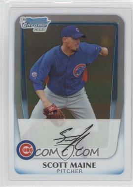 2011 Bowman - Chrome Prospects #BCP206 - Scott Maine