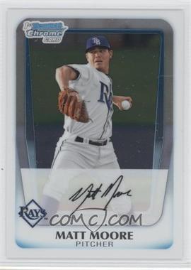 2011 Bowman - Chrome Prospects #BCP220 - Matt Moore