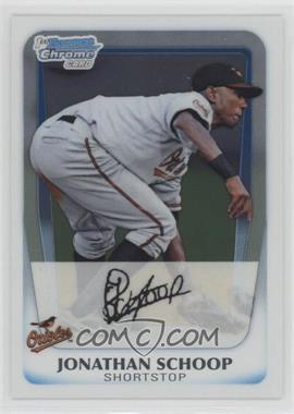 2011 Bowman - Chrome Prospects #BCP25 - Jonathan Schoop