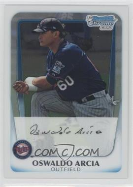 2011 Bowman - Chrome Prospects #BCP28 - Oswaldo Arcia