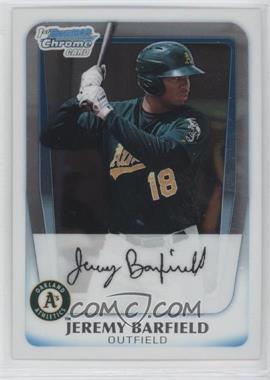 2011 Bowman - Chrome Prospects #BCP3 - Jeremy Barfield