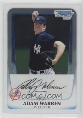 2011 Bowman - Chrome Prospects #BCP48 - Adam Warren