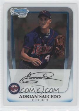 2011 Bowman - Chrome Prospects #BCP58 - Adrian Salcedo