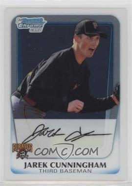 2011 Bowman - Chrome Prospects #BCP60 - Jarek Cunningham
