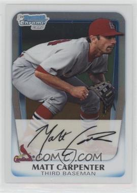 2011 Bowman - Chrome Prospects #BCP66 - Matt Carpenter