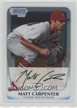 2011 Bowman - Chrome Prospects #BCP66 - Matt Carpenter