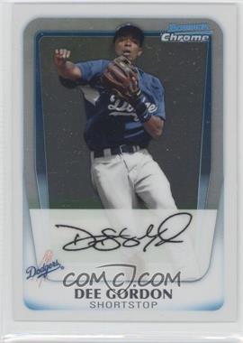 2011 Bowman - Chrome Prospects #BCP80 - Dee Gordon
