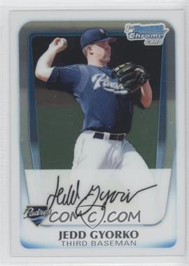 2011 Bowman - Chrome Prospects #BCP83 - Jedd Gyorko