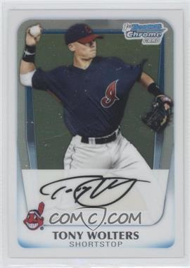 2011 Bowman - Chrome Prospects #BCP98 - Tony Wolters
