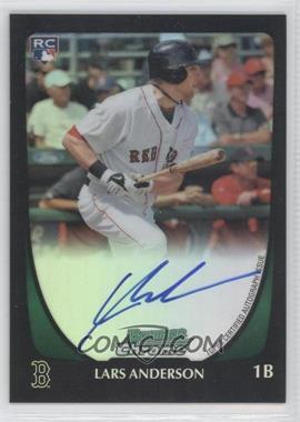2011 Bowman - Chrome Rookie Autograph - Refractor #192 - Lars Anderson /500