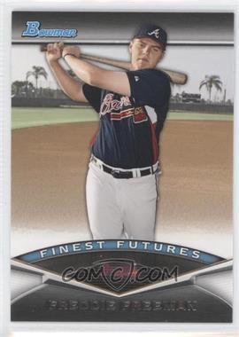 2011 Bowman - Finest Futures #FF10 - Freddie Freeman