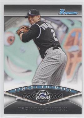 2011 Bowman - Finest Futures #FF11 - Troy Tulowitzki