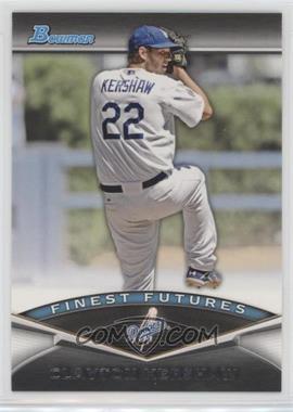 2011 Bowman - Finest Futures #FF21 - Clayton Kershaw