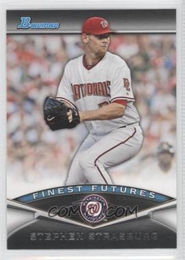 2011 Bowman - Finest Futures #FF23 - Stephen Strasburg