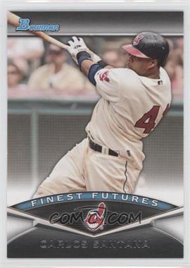 2011 Bowman - Finest Futures #FF7 - Carlos Santana