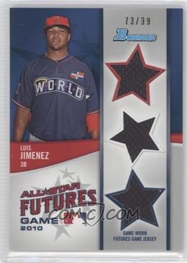 2011 Bowman - Future's Game Triple Relics #FGTR-LI - Luis Jimenez /99