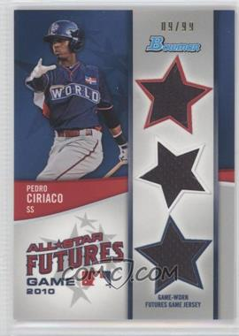 2011 Bowman - Future's Game Triple Relics #FGTR-PC - Pedro Ciriaco /99