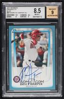 Bryce Harper (Autographed) [BGS8.5NM‑MT+] #/250