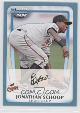 2011 Bowman - Prospects - Blue #BP25 - Jonathan Schoop /500