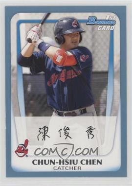 2011 Bowman - Prospects - Blue #BP26 - Chun-Hsiu Chen /500