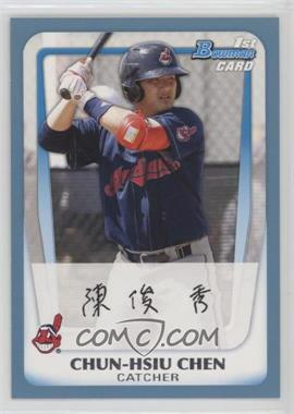 2011 Bowman - Prospects - Blue #BP26 - Chun-Hsiu Chen /500