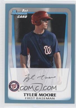 2011 Bowman - Prospects - Blue #BP5 - Tyler Moore /500