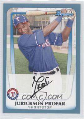 2011 Bowman - Prospects - Blue #BP82 - Jurickson Profar /500