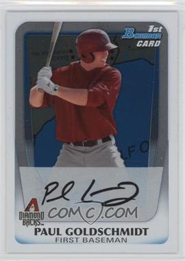 2011 Bowman - Prospects - International #BP99 - Paul Goldschmidt