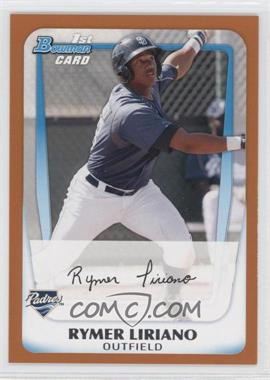 2011 Bowman - Prospects - Orange #BP101 - Rymer Liriano /250
