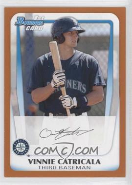 2011 Bowman - Prospects - Orange #BP23 - Vinnie Catricala /250