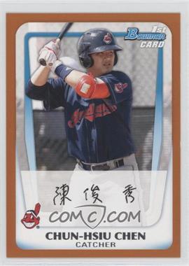 2011 Bowman - Prospects - Orange #BP26 - Chun-Hsiu Chen /250