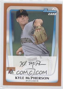2011 Bowman - Prospects - Orange #BP31 - Kyle McPherson /250