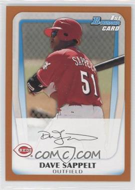 2011 Bowman - Prospects - Orange #BP37 - Dave Sappelt /250