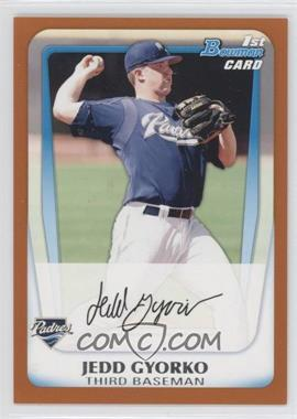 2011 Bowman - Prospects - Orange #BP83 - Jedd Gyorko /250