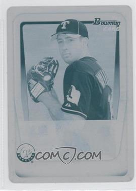 2011 Bowman - Prospects - Printing Plate Cyan #BP33 - Joseph Wieland /1