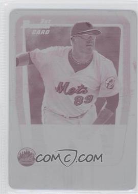 2011 Bowman - Prospects - Printing Plate Magenta #BP68 - Sean Ratliff /1