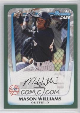 2011 Bowman - Prospects - Retail Green #BP85 - Mason Williams /450