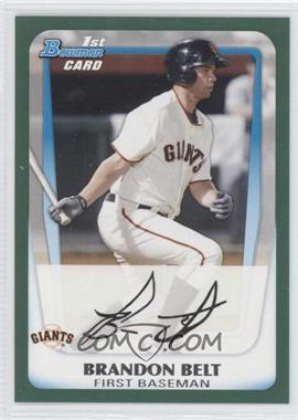 2011 Bowman - Prospects - Retail Green #BP93 - Brandon Belt /450