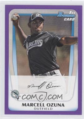 2011 Bowman - Prospects - Retail Purple #BP36 - Marcell Ozuna