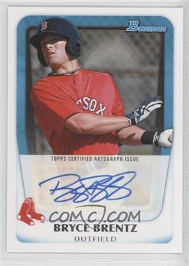 2011 Bowman - Prospects Autograph #BPA-BB - Bryce Brentz