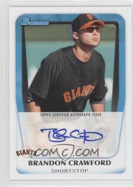 2011 Bowman - Prospects Autograph #BPA-BC - Brandon Crawford