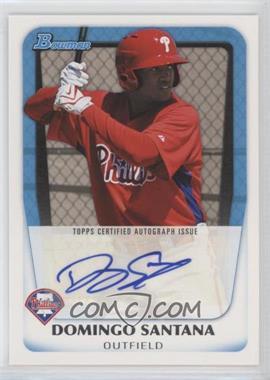2011 Bowman - Prospects Autograph #BPA-DS - Domingo Santana